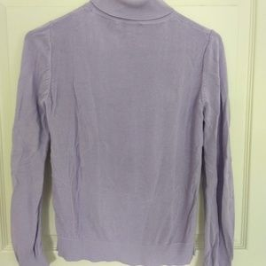 Lilac turtleneck